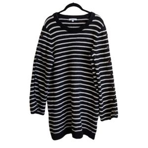 Madewell Striped Sweater Tunic